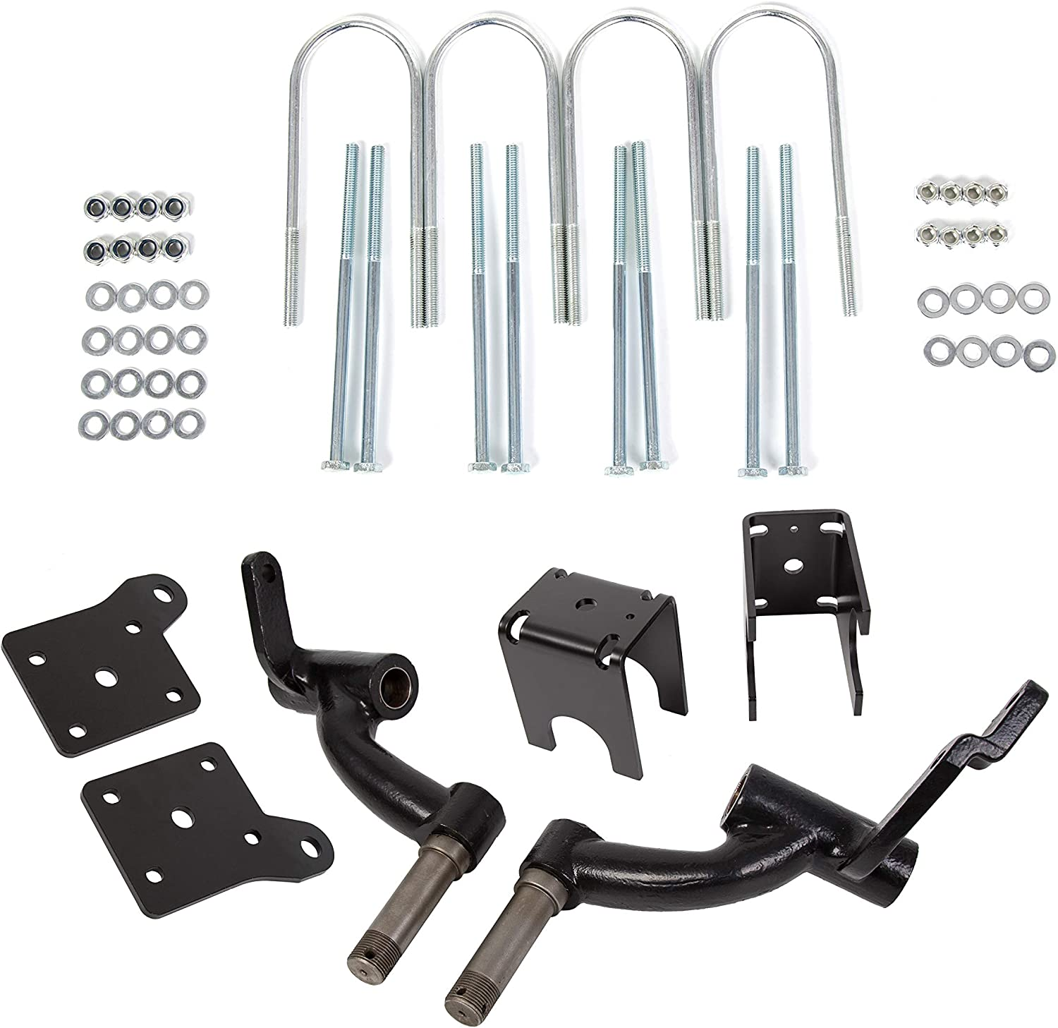 6 inch Drop Spindle Lift NEW ARRIVAL Kit with 2001.5-2008.5 輸入 EZGO Compatible