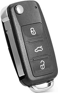 $28 » Tyranway Compatible with 4-BTN Key Fob Keyless Entry Remote VW Volkswagen Beetle CC Eos Golf GTI Jetta Passat Tiguan Touar...
