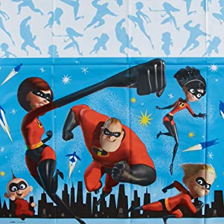 American Greetings Incredibles 2 Party Supplies, Plastic Table Cover (1-Count)