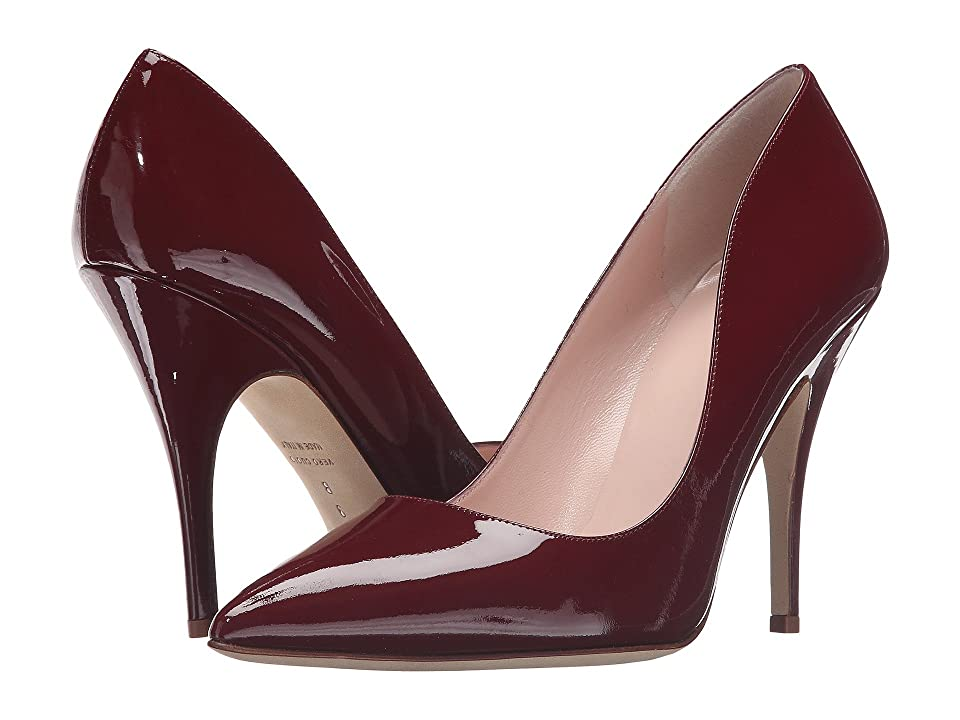 Kate Spade New York Licorice (Red Chestnut Patent) High Heels