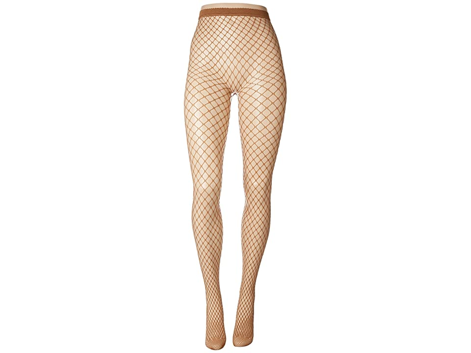 Wolford Tina Summer Net Tights (Honey) Hose, Tan