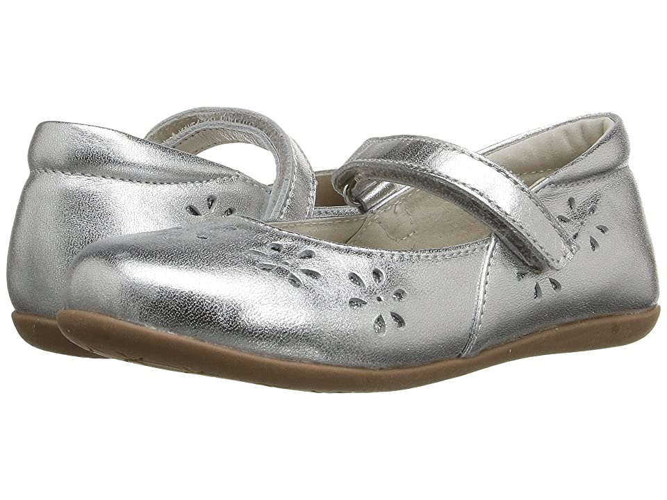 See Kai Run Kids Ginger II (Toddler/Little Kid) (Silver) Girl