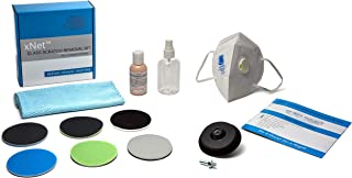 Glass Polish GP28003 DIY Glass Scratch Removal kit/xNet System/Removes: Scratches, Hard Limescale and Water Deposits, Graffiti and Acid Etching, Surface Marks/Suitable for Any Type of Glass
