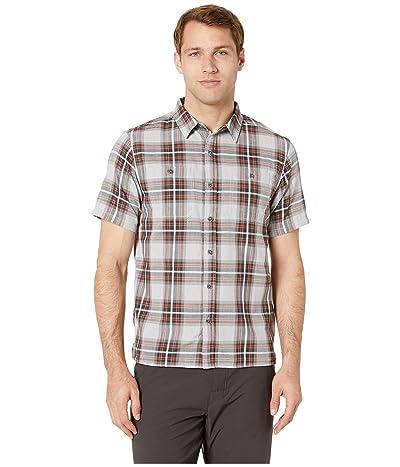 Mountain Hardwear Sinks Canyontm Short Sleeve Shirt (Grey Ice) Men