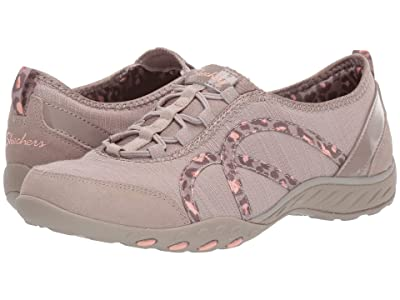SKECHERS Breathe-Easy Missing Lynx (Taupe) Women