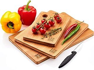 Tablas De Cortar Cocina en Madera Premium Extra-Gruesas -