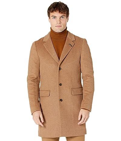 Scotch & Soda Classic Wool-Blend Overcoat (Sand) Men