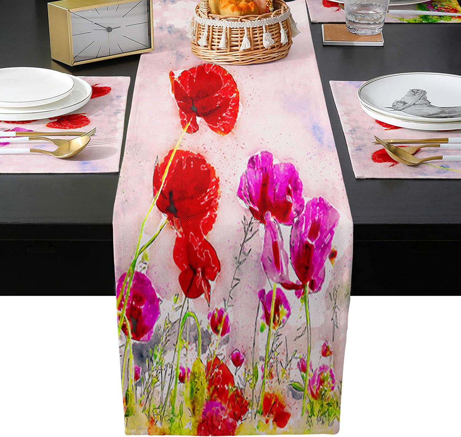 EZON-CH Placemats with Table free shipping Runner Set of Slip Non Washable 4 Max 67% OFF T