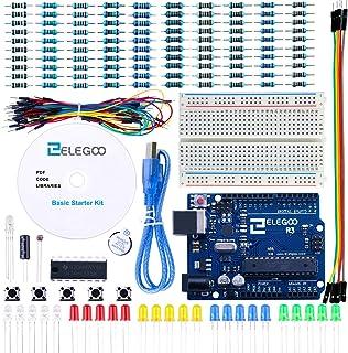 ELEGOO Conjunto Básico de Iniciación con Guías Tutorial en Español para R3 Starter Kit