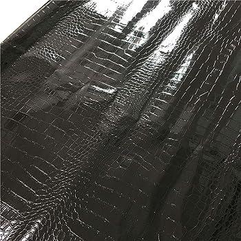 A-Express Simili cuir dameublement /à grain Imitation Cuir Tissu textur/é Vinyle Art Artisanat leathercloth Mati/ère Vendu au m/ètre Argent Brillant Demi M/ètre 50cm x 140cm
