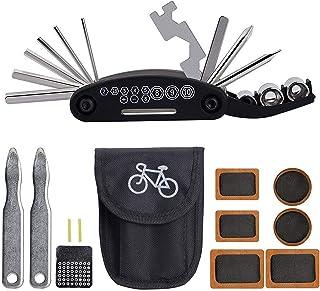 Kit de Reparación para bicicleta 16 en 1. Set de Herramient
