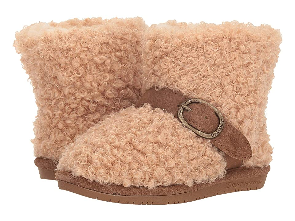 Bearpaw Kids Treasure (Little Kid/Big Kid) (Taupe) Girls Shoes