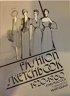 Fashion Sketchbook: 1920-1960