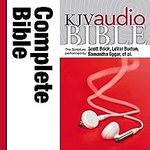 Pure Voice Audio Bible - King James Version, KJV: Complete Bible