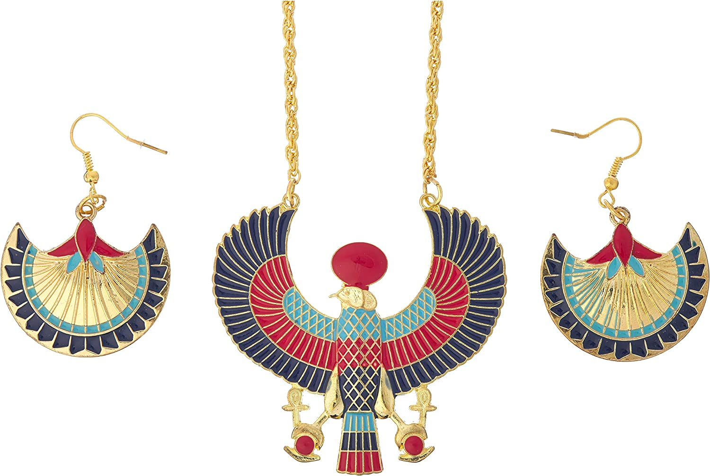 amscan 847418 Gods & Goddesses Egyptian Jewelry Set, 3 Piece