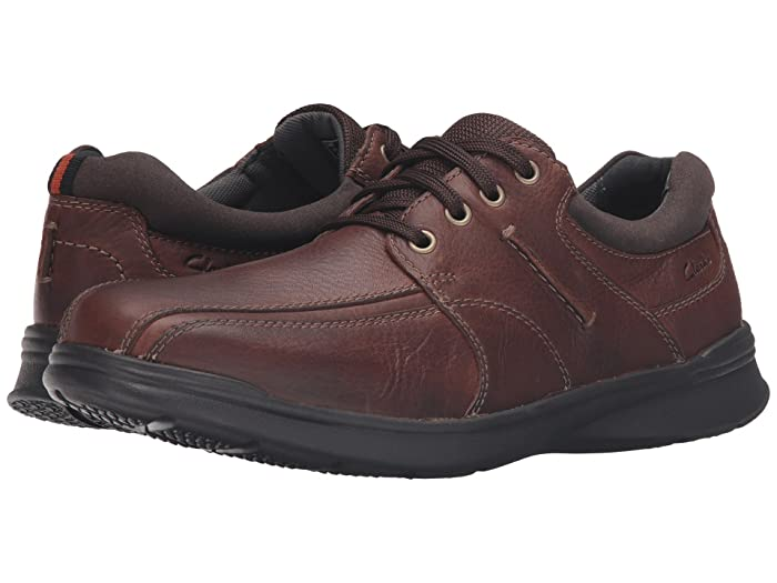 Clarks  Cotrell Walk (Tobacco Oily Leather) Mens Shoes