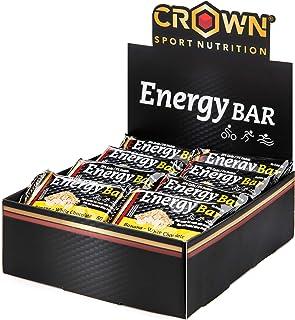 Crown Sport Nutrition 18 x Energy Bar (60g), Barritas de avena energéticas sin