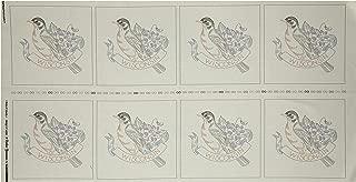Robert Kaufman Kaufman Birds of Liberty State Blocks Wisconsin 24in Panel Fabric