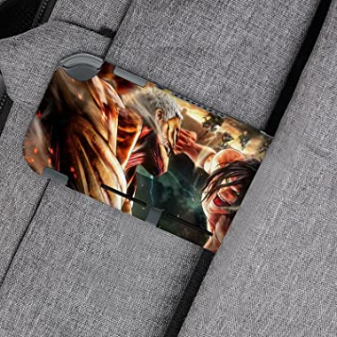 Attack on Titan Switch Lite Vinyl Decal-Novelty Anime Gaming Cartoon Pattern Full Wrap Skin Protective Film Sticker Compatibl
