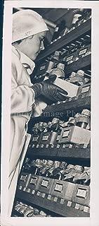Vintage Photos 1949 Photo Rochester NY Blood Bank Business Man Portrait