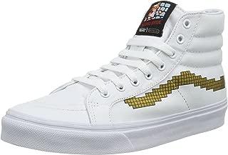 Vans Men's Sk8-Hi Slim (Nintendo) Console/Gold Skateboarding Shoe VN00018IJUZ