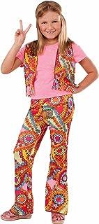 Forum Novelties 60's Hippie Girl Child Costume, Medium