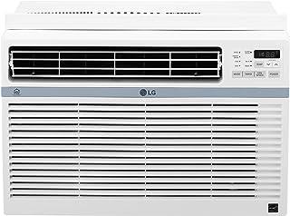 LG LW8017ERSM Smart Window Air Conditioner (Wi-Fi), 8,000 BTU 115V, White