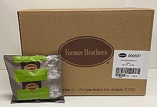Farmer Brothers Medium Roast Decaf Ground Coffee, 48/8 oz packets