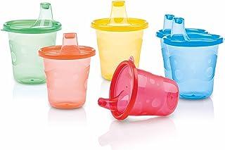 comprar comparacion Nuby ID91121 - Vaso boquilla, colores surtidos (pack x 6)