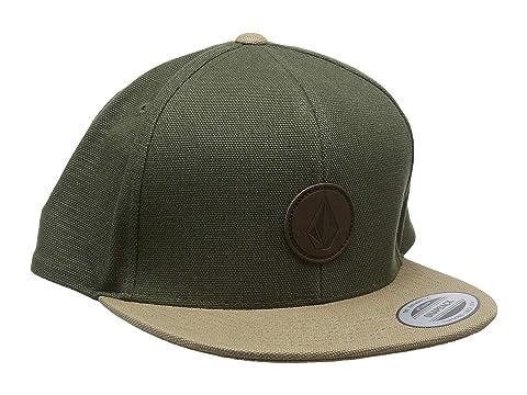 5b7dce10c9a Volcom Quarter Fabric Panel Hat at Zappos.com