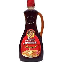 Aunt Jemima Pancake Syrup, 24 Fl Oz