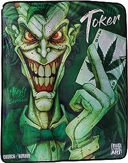 Rabbit Tanaka Big Chris Art - The Toker Marijuana Weed Leaf Soft Fleece Throw Blanket 46