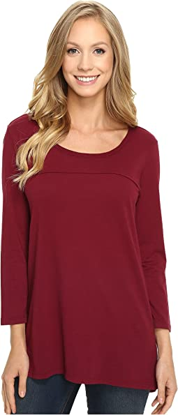 Classic Jersey Back Rib Vented Tee