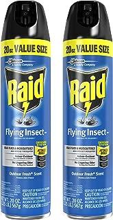 Raid Flying Insect Killer 20 Ounce Bonus Size Pack of 2