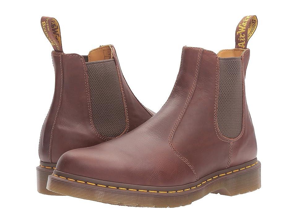 Dr. Martens 2976 Chelsea Boot (Tan Carpathian) Lace-up Boots