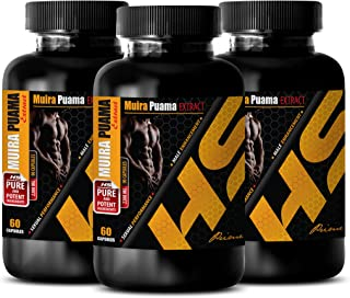 Sex Booster for Women - Muira PUAMA Extract - Increase libido Female - 3 Bottles 180 Capsules