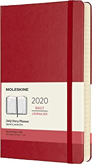 Moleskine Classic 12 Month 2020 Daily Planner, Hard Cover, Large (5