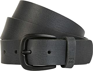 billabong leather belt
