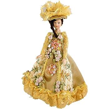 Melody Jane Casa de Mu/ñecas Victoriana Lady en de Caf/é Conjunto Porcelana 1:12 Personas