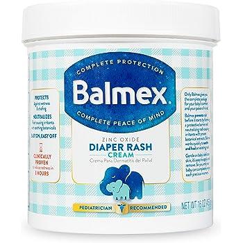 Balmex Complete Zinc Oxide Protection Diaper Rash Cream, 16 Ounce