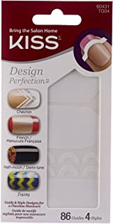 Kiss K Design Perfection Tip Guides TG04, 10 count