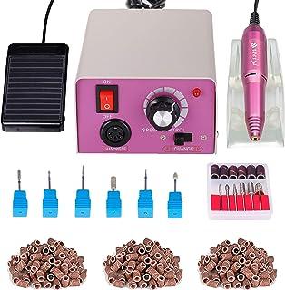 Fresa Unghie Elettrica Professionale con Pedale per Manicure