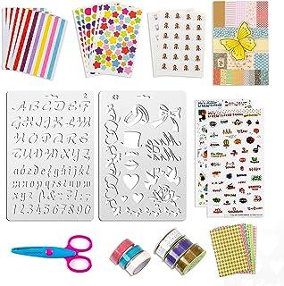 50 pièces accessoires de scrapbooking autocollants autocollants d'album photo amour bricolage conception agenda cartes déc...