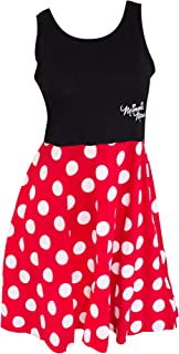 Minnie Mouse Women's and Red Polka Dot Dress