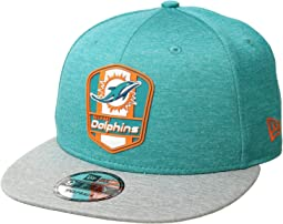 9Fifty Official Sideline Away Snapback - Miami Dolphins