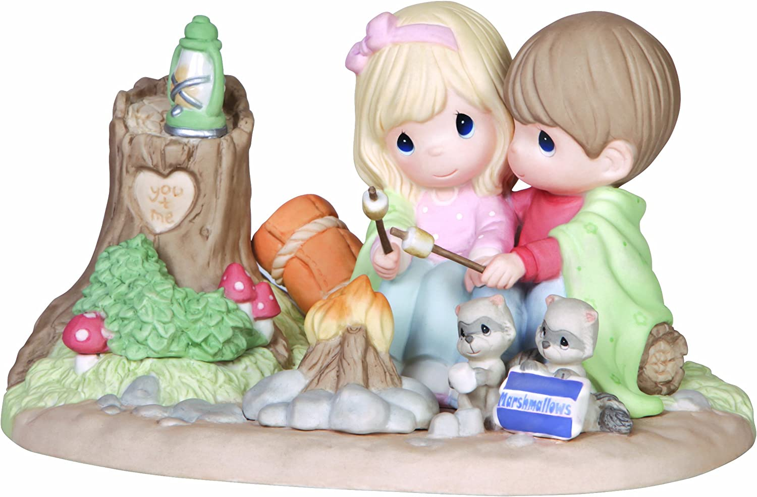 Precious Moments, You Warm My Heart, Bisque Porcelain Sculpture, Limited Edition, 141047