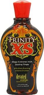Devoted Creations Trinity XS Mega Extreme XXX Sizzling Tingle Tanning Lotion 12.25 oz.