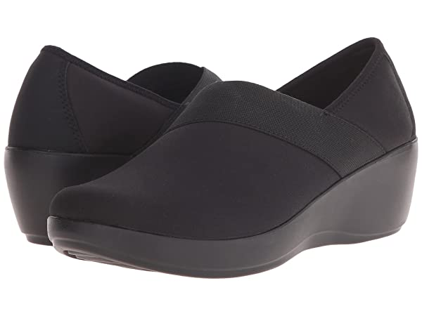 Crocs Busy Day Stretch Asymmetrical Wedge