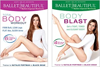 Ballet Beautiful – Classic Body Toning and Cardio Blast DVD Workout Bundles. Mary..