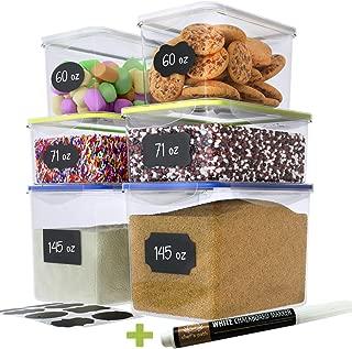 sugar flour containers set